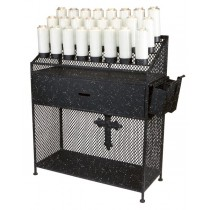 Church Devotion Stand - 24 candles