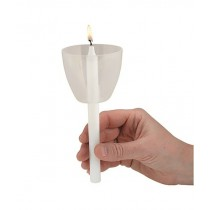 Clear Wind Protector for Candlelight Service- 50/bx