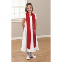 Come Holy Spirit Red Confirmation Stole