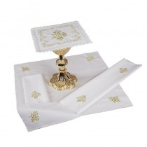 Embroidered IHS Altar Linen Gift Set
