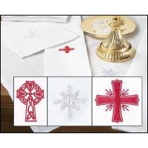 Embroidered Symbols Corporal Altar Linen
