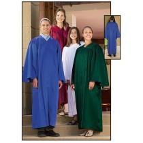 Fluted Choir Robes
