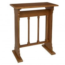 Gothic Collection Church Credence Table - Medium Oak