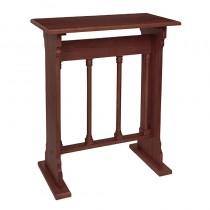 Gothic Collection Church Credence Table - Walnut