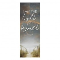 I am the Light of the World Church Banner