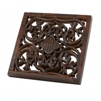 IHS Carved Bible Stand