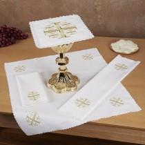 Jerusalem Cross Altar Linen Gift Set