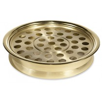 Stackable Solid Brass Communion Tray 40 Servings