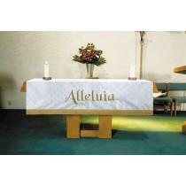 Maltese Jacquard White Altar Frontal