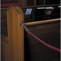 Permanent Church Pew Ropes