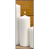 Plain Memorial Pillar Candle