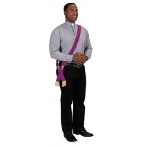 Reversible Portable Deacon Stoles for Travel