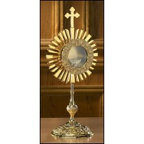 Cross Monstrance with Luna