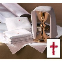Red Cross Purificator - Poly Cotton Blend