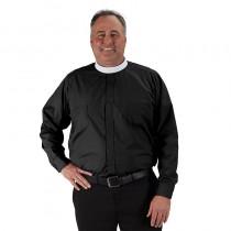 Roomey Toomey Mens Clergy Neckband Shirt Long
