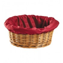 Round Church Offering Basket