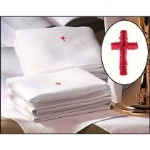 Cotton Lavabo Towels with Red Cross