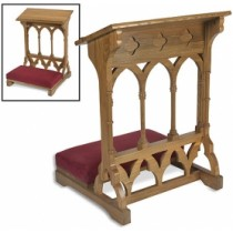 Gothic Padded Church Kneeler