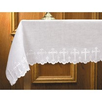 Two Sided Scalloped Edged Altar Frontal