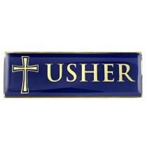 USHER Magnetic Badge