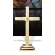 "IHS Altar Cross 18"""