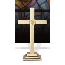 IHS Altar Cross 24""