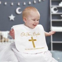 You are a New Creation in Christ Baptismal Bib