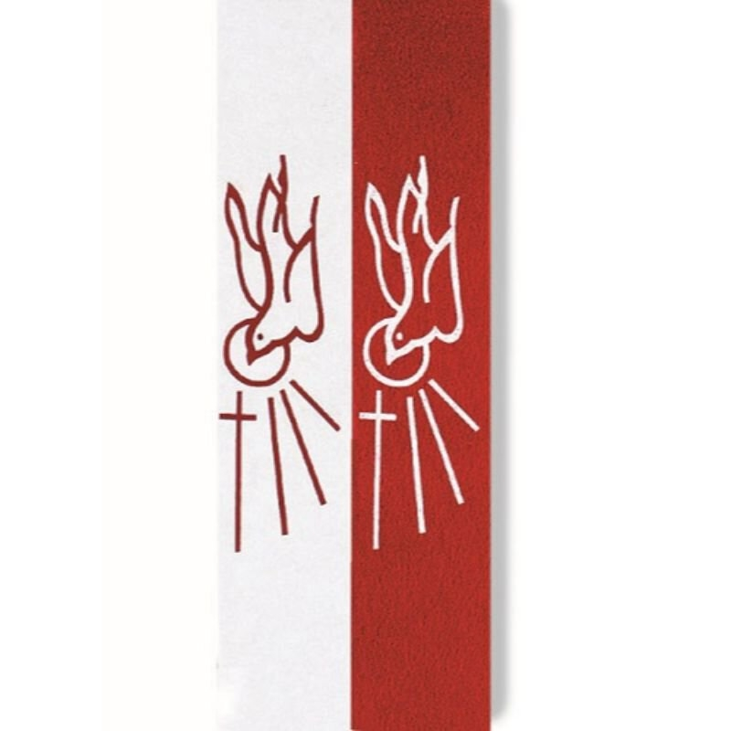 Confirmation Stoles in Red or White