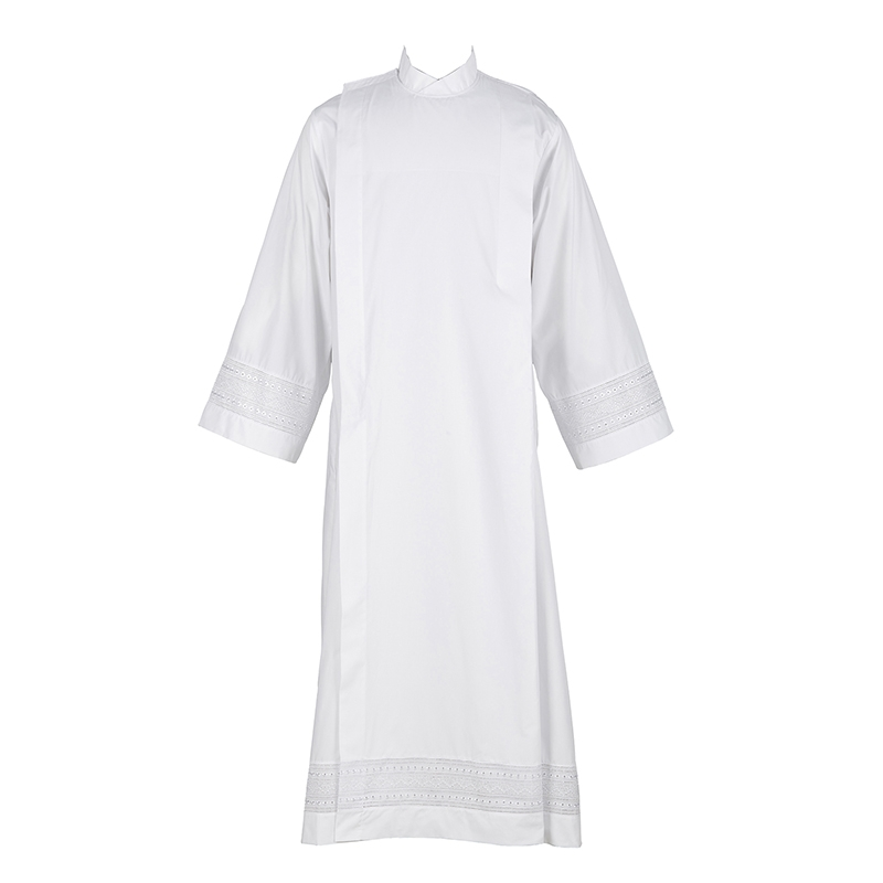 Embroidered Inset Clergy Albs