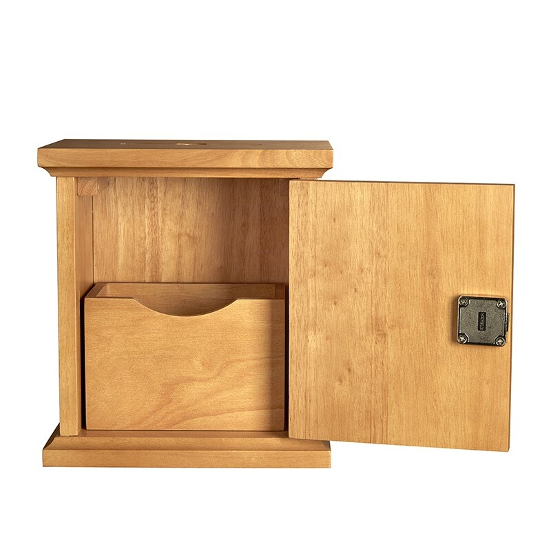 Wall Church Tithing Box